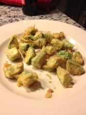 avocado tempura recipe